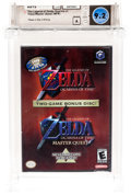 Video Games:Playstation, The Legend of Zelda: Ocarina of Time / Master Quest [NFR] (GameCube, Nintendo, 2003) Wata 9.2 A (Seal Rating)....