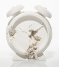 Collectible:Contemporary, Daniel Arsham (b. 1980). Clock (FR-03), 2015. Plaster with glass fragments. 5-1/2 x 5 x 2-1/2 inches (14 x 12.7 x 6.4 cm...