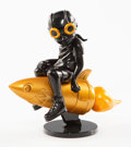 Collectible:Contemporary, Hebru Brantley X Billionaire Boys Club X BAIT. Beyond the Beyond (Black/Gold), 2018. Painted cast vinyl. 9 x 8 x 4 inche...