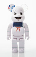 Collectible:Contemporary, BE@RBRICK X Columbia Pictures. Stay Puft Marshmellow Man 400%, from Ghostbusters, 2017. Pai...