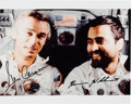 Explorers:Space Exploration, Apollo 17 Moonwalkers: Signed Mission Color Photo with Astronaut Scholarship Foundation Certification. ...