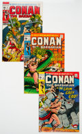 Bronze Age (1970-1979):Adventure, Conan the Barbarian Group of 13 (Marvel, 1971-74) Condition: Average NM.... (Total: 13 Comic Books)
