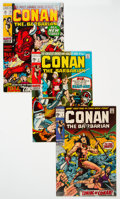 Bronze Age (1970-1979):Adventure, Conan the Barbarian Group of 30 (Marvel, 1970-74) Condition: Average VF.... (Total: 30 )