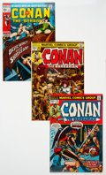 Bronze Age (1970-1979):Adventure, Conan the Barbarian Group of 16 (Marvel, 1970-) Condition: Average FN/VF.... (Total: 16 Comic Books)