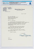 Explorers:Space Exploration, Typed Letter Signed by Washington Senator Warren G. Magnuson as Chairman of the Senate Committee on Commerce to Neil Armstrong...