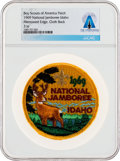 Explorers:Space Exploration, Boy Scouts: 1969 National Jamboree Idaho Patch Directly From The Armstrong Family Collection™, CAG Certified....