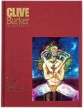 Memorabilia:Books, Clive Barker: Illustrator Limited, Hardcover, SlipcaseEdition Artist's Proof, Signed with Sketch (Eclipse, 1991)....
