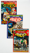 Bronze Age (1970-1979):Horror, Tomb of Dracula Group of 15 (Marvel, 1972-79) Condition: AverageVF.... (Total: 15 Comic Books)