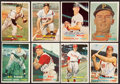 Autographs:Sports Cards, 1957 Topps Baseball Signed Card Collection (16)....