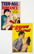 Golden Age (1938-1955):Romance, Golden Age Romance Comics Group of 2 (Various Publishers,1950s).... (Total: 2 Comic Books)