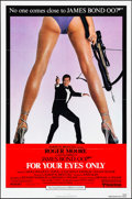 "Movie Posters:James Bond, For Your Eyes Only (United Artists, 1981). Folded, Very Fine+. One Sheet (27"" X 41""). James Bond.. ..."