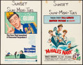"""Movie Posters:Comedy, The Incredible Mr. Limpet & Other Lot (Warner Brothers, 1964). Folded, Fine/Very Fine. Window Cards (4) (14"""" X 22""""). Comedy.... (Total: 4 Items)"""