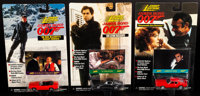 James Bond 007 Cars by Johnny Lightning (Playing Mantis, 1998). Near Mint. Die-Cast Model Cars in Original Packaging (9)...