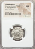 Ancients:Roman Imperial, Ancients: Herennius Etruscus, as Caesar (AD 251). AR antoninianus (22mm, 12h). NGC AU....