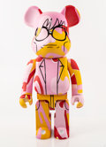 Collectible:Contemporary, BE@RBRICK X The Andy Warhol Foundation for the Visual Arts. This is Andy 1000% (Pink Camo), 2017. Painted cast resin. 28...