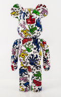 Collectible:Contemporary, BE@RBRICK X Keith Haring Foundation. Keith Haring 1000%, 2017. Painted cast resin. 28-1/2 x 14 x 9 inches (72.4 x 35.6 x...