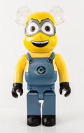 Collectible:Contemporary, BE@RBRICK X Illumination. Dave 1000%, from Despicable Me 3, 2018. Painted cast resin. 28-1/2 x 14-1/2 x 9 inches (72...