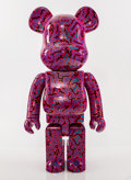 Collectible:Contemporary, BE@RBRICK X Keith Haring Foundation. Keith Haring #2 1000%, 2018. Paint cast resin. 28-1/2 x 14-1/2 x 9 inches (72.4 x 3...