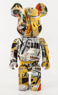 Collectible:Contemporary, BE@RBRICK X The Estate of Jean-Michel Basquiat . Jean-Michel Basquiat 1000%, 2017. Painted cast resin. 28-1/2 x 14-1/2 x...