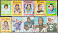 Football Cards:Lots, 1968 and 1971 Topps Football Posters Collection (49)....