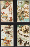"Non-Sport Cards:Lots, 1890's Arbuckle Bros. ""Grind Your Coffee At Home"" Collection (19)...."