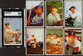 Baseball Cards:Lots, 1953 Bowman Color Baseball Collection (111) With Mantle. ...