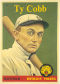 "Baseball Collectibles:Others, 2019 Ty Cobb 1958 Topps ""Card That Never Was"" Original Painting by Arthur Miller...."