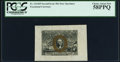 Fractional Currency:Second Issue, Fr. 1314SP 50¢ Second Issue Wide Margin Face PCGS Choice About New 58PPQ.. ...