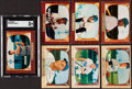 Baseball Cards:Sets, 1955 Bowman Baseball Near Set (315/320). ...