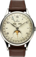 Timepieces:Wristwatch, Omega, Ref: 2486-1, Cosmic Triple Date Moonphase, Circa 1955, (ForRestoration). ...