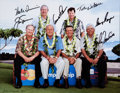 Golf Collectibles:Autographs, Circa 2004 Golfing Greats Multi-Signed Oversized Photograph withNicklaus & Palmer. ...