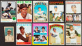 Baseball Cards:Lots, 1920's - 1970's Baseball Stars & Hall of Famers Card Collection(16). ...