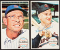 Autographs:Sports Cards, 1961-69 Topps Signed Card Collection (20)....
