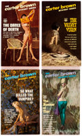 Books:General, Carter Brown High-Grade Paperbacks Group of 9 (Signet, 1960s-70s).... (Total: 9 Items)