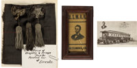 Abraham Lincoln: An Important & Evocative Collection of Assassination-Related Artifacts