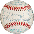 Baseball Collectibles:Balls, Early 1990's National League No-Hit Pitchers Multi-Signed Baseball....