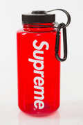 Collectible:Contemporary, Supreme X Nalgene. Water Bottle (Red), 2014. Plastic. 8-1/4 x 3-1/2 x 3-1/2 inches (21 x 8.9 x 8.9 cm). Produced by Nalg...