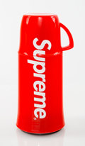 Collectible:Contemporary, Supreme X Helios. Supreme Thermos, 2014. Plastic. 8 inches (20.3 cm) high. Published by Helios, Germany. ...