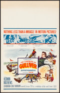 """Movie Posters:Fantasy, The 3 Worlds of Gulliver & Other Lot (Columbia, 1960). VeryFine-. Window Cards (2) (14"""" X 22""""). Fantasy.. ... (Total: 2 Items)"""