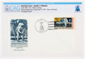 """Explorers:Space Exploration, Apollo 11: """"Man's First Landing on the Moon"""" First Day Cover Directly From The Armstrong Family Collection™, CAG Certified...."""