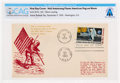 """Explorers:Space Exploration, Apollo 11: """"Neil A. Armstrong Plants the American Flag on the Moon"""" First Day Cover Directly From The Armstrong Family Collect..."""