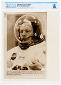 "Explorers:Space Exploration, Apollo 11: ""Slated to be the First Man on the Moon"" July 20, 1969, Original AP Wirephoto (PR10931NASA) Directly From The Armst..."