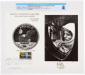 """Explorers:Space Exploration, Apollo 11: """"Houston, Tranquility Base Here. The Eagle Has Landed."""" First Day Canceled Souvenir Card Directly From The Armstron..."""