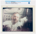 "Explorers:Space Exploration, Apollo 11: Original NASA ""Red Number"" Television Recapture of Neil Armstrong Color Photo Directly From The Armstrong Family Co..."