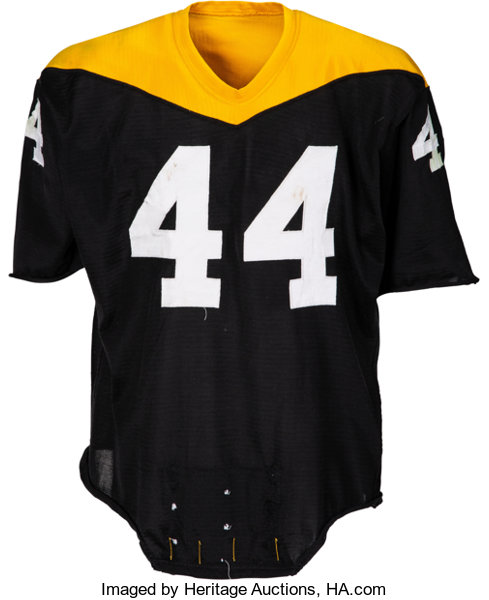 newest collection 4c46e 3f8f8 1966-67 Pittsburgh Steelers Game Worn Jersey.... Football ...