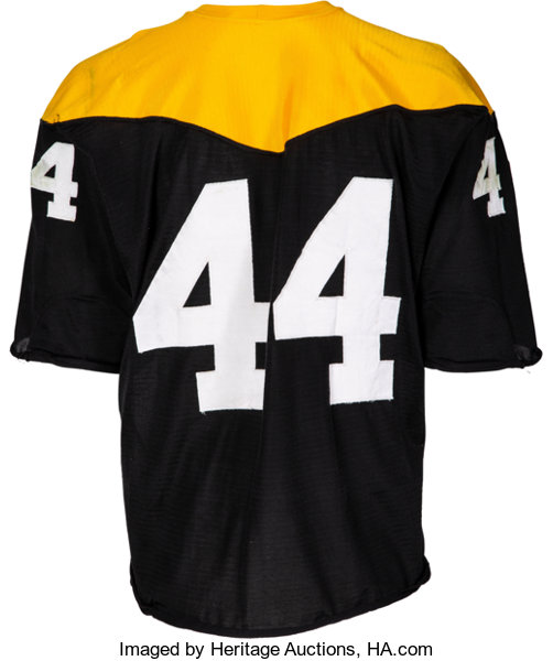 newest collection 1abda b0f84 1966-67 Pittsburgh Steelers Game Worn Jersey.... Football ...