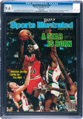 Basketball Collectibles:Others, 1984 Michael Jordan Sports Illustrated Magazine CGC 9.6--PopulationOne of One!...