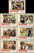 """Movie Posters:Western, The Virginian (Paramount, 1946). Fine+. Lobby Cards (7) (11"""" X 14""""). Western.. ... (Total: 7 Items)"""
