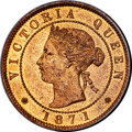 Canada, Canada: Prince Edward Island. Victoria Cent 1871 MS65 Red and Brown PCGS,...