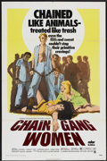 "Movie Posters:Bad Girl, Chain Gang Women (Crown International, 1971). One Sheet (27"" X41""). Bad Girl...."